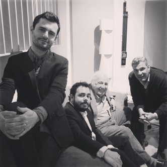 Konrad Paszkudzki, RIcardo Baldacci, Bucky e Martin Pizzarelli
