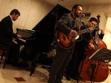 Sidney Ferraz, Ricardo Baldacci e Ricardo Ramos no L'Hotel, 2014, por Emilene Miossi