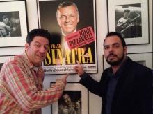 John Pizzarelli e Ricardo Baldacci, Manhattan, NY, 2014, por Martin Pizzarelli