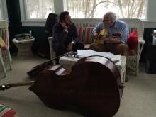 Ricardo Baldacci e Bucky Pizzarelli em New Jersey, 2015, por Emilene Miossi