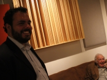Ricardo Baldacci e Bucky Pizzarelli por Emilene Miossi, Queens, NY, 2015